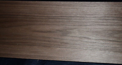 Walnut Raw Wood Veneer Sheets 8 X 46 Inches 142nd Thick  8704-9