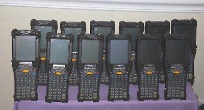 Lot Of 12 Motorola Symbol Mc9060 Handheld Barcode Scanners -- Good Condition