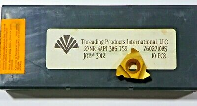 10 Pieces Tpi 27nr 4api386 T5s Carbide Inserts  H478