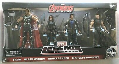 HASBRO Marvel Legends AVENGERS Age Of Ultron 4 Pack Amazon Exclusive - NEW