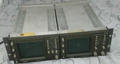 Leader Vector Waveform Monitor 525 5860c Wntsc Vectorscope 5850c