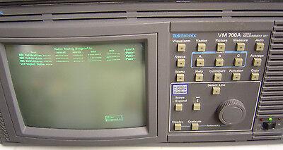 Tektronix Vm700a Video Measurement Set - Used - Working