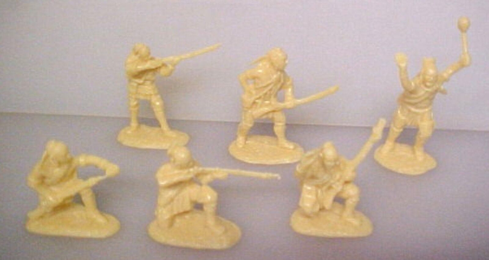 18 American Indians Set 1 Aip Plastic Soldiers Army Men 5547
