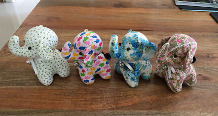 Baby elephant soft toy (3 styles available)
