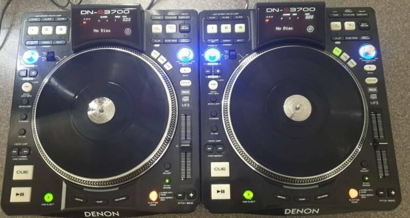 Denon DN-S3700 x 2 & Numark x9 Mixer | DJ Gear & Lighting