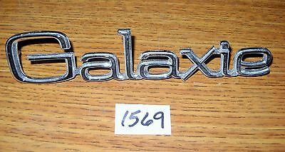 Ford Galaxie emblem NOS chrome very good condition