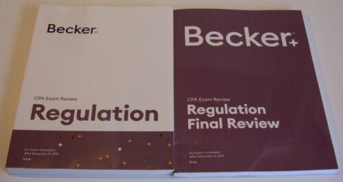 Becker CPA Exam Review – Regulation & Regulation Final Review V3.5 MINT
