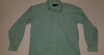 Polo Ralph Lauren Men's Size XL Light Mint Green Classic Fit (Mint Green Ralph Lauren Polo)
