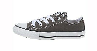 r All Star Gray Charcoal Youths Children Girls Boys Shoes (Chuck Taylor Boys)