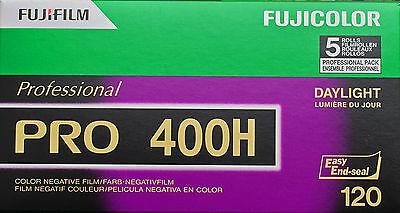 FUJIFILM PRO 400 H  Rollfilm 120  5er Pack MHD/expiry date 01/2020