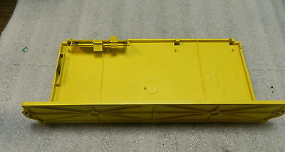 Fanuc A230-0476-X001 Plastic Cover, w/ A230-0476-X003 Battery Back-up Door, Used