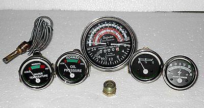 Massey Ferguson Gauge Kit And Tachometer Mf35 Mf50 Mf65 To35 F40 Mh50