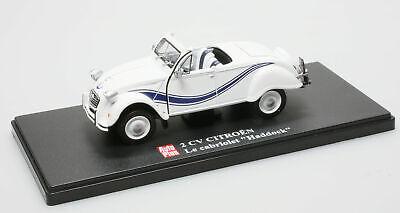 """Citroën 2CV cabriolet """"Haddock"""" -  1/43"""