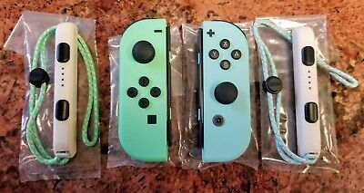 Genuine Nintendo Switch Animal Crossing New Horizons Joy-Cons (L + R) *NEW*