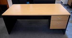New Swan 1800x750 Office Home Desks Drawers File Storage Melbourne CBD Melbourne City Preview