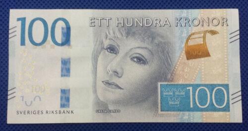 ***Sweden 100 Kronor Banknote Bill Currency***