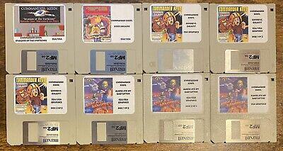 Commander Keen Complete Collection Vintage Games MS-DOS IBM PC 8-Disk Floppy Set