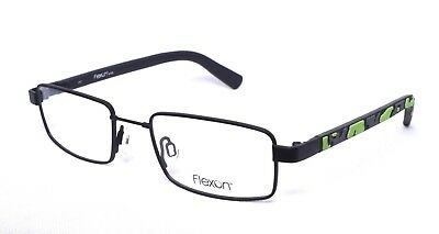 FLEXON Kids Trek 001 Eyeglass/Glasses Frames 47-18-130 Black Youth >NEW