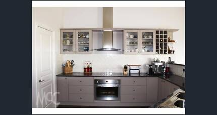 Kitchen - cupboards, benchtops and appliances