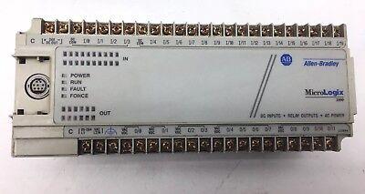 Allen Bradley Micrologix 1000 1761-l32bwa 120 Vac Plc Controller Dc Inputs