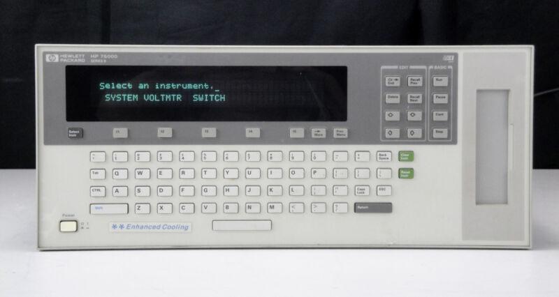 As-Is/Parts - HP 75000 Series B - Mainframe w (2)E1326B, E1364-66201,E1345-66201