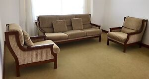 Lounge Suite: 3 Seater Lounge + 2 Armchairs Bexley North Rockdale Area Preview