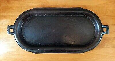 Vintage Cast Iron Griddle # 8