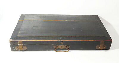 Old Zither Before 1945 With Suitcase Hobbyist Ware Spare Parts