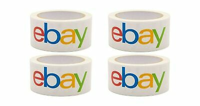 Official Ebay Branded Bopp Packaging Tape - Shipping Supplies 4 Rolls 4 Rolls