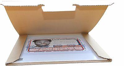 *NEU* 100 St. Premium Versandkartons für 1 LP/Maxi 12 Zoll Vinyl 325x325x4 mm