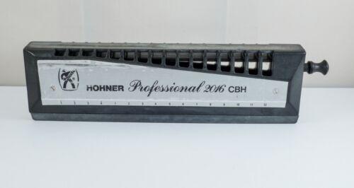 Hohner Professional 2016 CBH 4 Octave Chromatic Harmonica