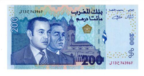 Morocco ... P-71 ... 200 Dirhams ... 2002 ... *UNC*
