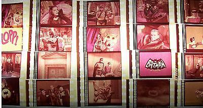 BATMAN TV Series Lot of 12 Film Cells compliments movie dvd memorabilia poster