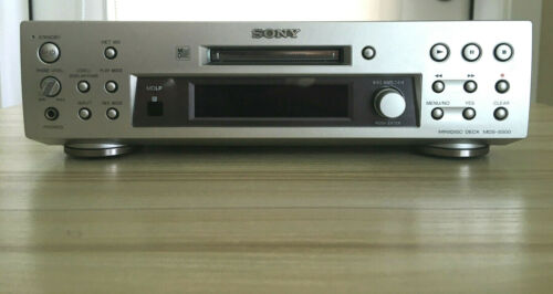 SONY MiniDisc Deck Player Recorder Model No. MDS-S500