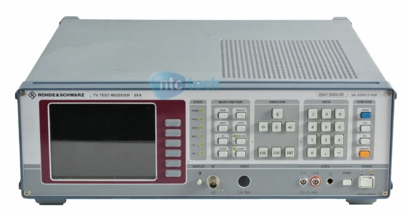 Rohde & schwarz EFA Model 2067.3004.20