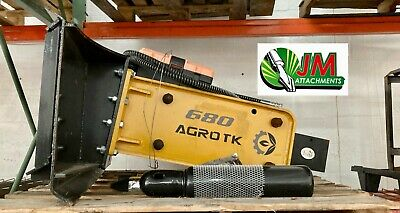 Mower King Sshh680 Hydraulic Hammer For Skid Steer Attachment