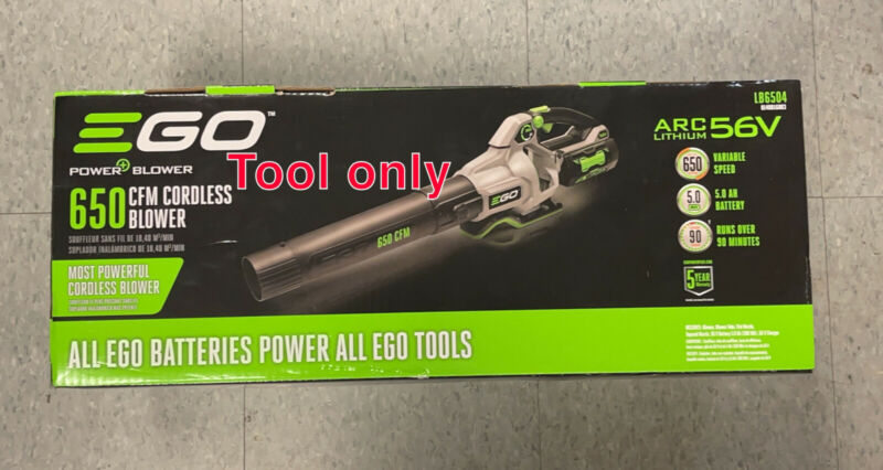 EGO LB6500 650CFM Cordless Handheld Leaf Blower Bare Tool No Charger No Battery