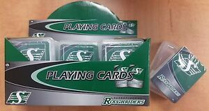 Saskatchewan Roughriders Poker Quality Playing Cards (New)