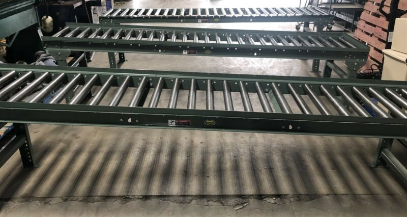 Hytrol Roller Conveyor MS-6 Gravity Fed 10