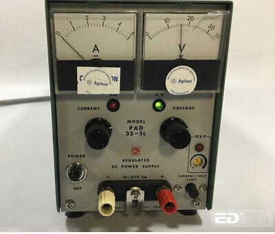 Kikusui Pad35-5l Dc Power Supply 0-35v 0-5a - Tested Ott