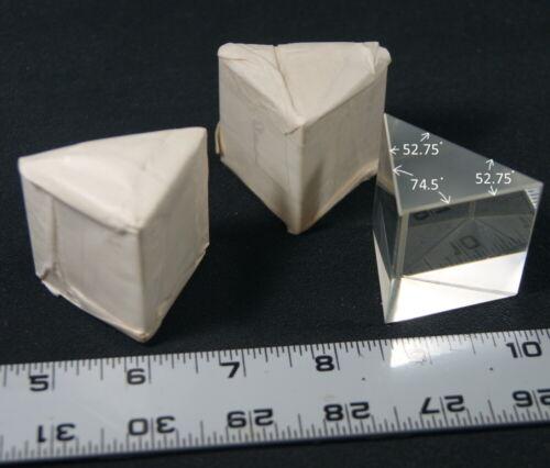 "IOS Large Isosceles Dispersion Prism 2"" base N-SF11 Flint glass"