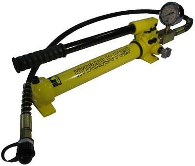 Hydraulic Hand Pump With Pressure Gauge 10.000 Psi - 21 In B-700cb