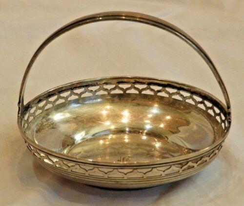 Vintage Tiffany & Co. Sterling Silver Decorative Dish or Basket