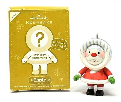 RARE NEW 2012 HALLMARK MYSTERY FROSTY'S SWEET RIDE CHRISTMAS ORNAMENT SCARCE WOW