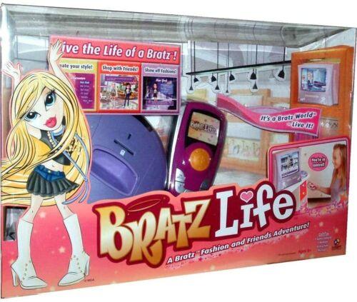 New Bratz Life A Bratz Fashion and Friends Adventure Sealed Interactive TV Game
