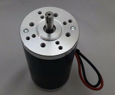 24V-DC 10000-RPM Fast Electrical-Motor Servo CNC Project 8mm-Keyed-Shaft 1/4-HP (Motor-servo-cnc)
