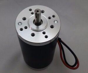 12V-DC 10000-RPM Fast Electrical-Motor Servo CNC Project 8mm-Keyed-Shaft 1/4-HP