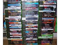 MICROSOFT XBOX - I am looking for games, a console, and any accessories.
