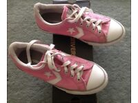 Pink Converse All Star Player shoes size 3 EU35.5