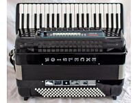 Excelsior 911 MIDI VOX Evolution Accordion - 4 Voice Musette - Hand Made Reeds